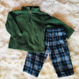 LL Bean Fleece & Flannel Set